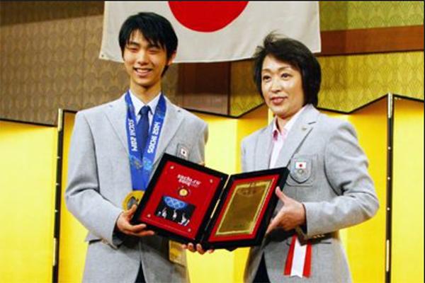 hanyu yuzuru & hashimoto seiko
