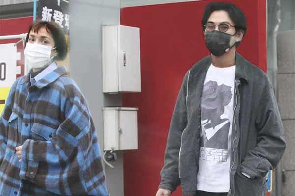 Matsuda Ryuhei & Morgan Mala at FRIDAY