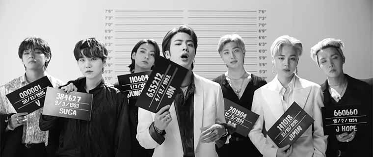 BTS Butter MV