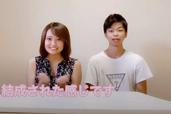 Acchan and Hideo as Youtuber