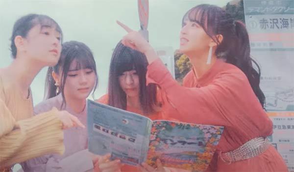 Nogizaka46 Sabita compass MV