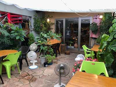 Kennys house cafe terrace