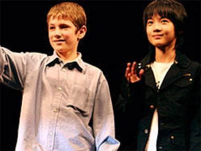 Kamiki Ryunosuke at CM 「Oliver Twist」Movie