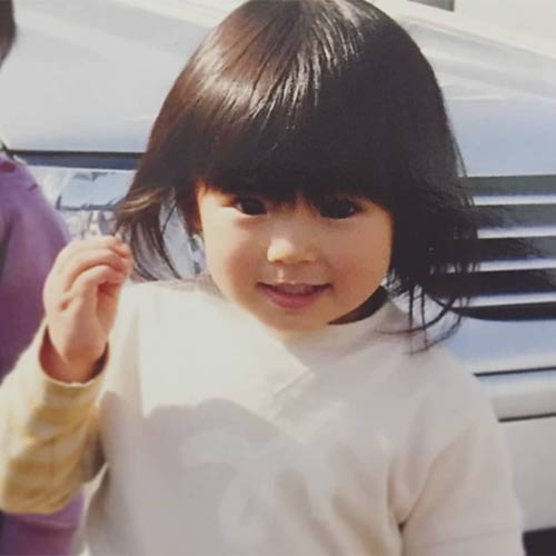 Konishi Haru on childhood