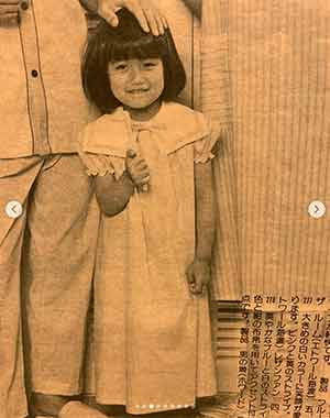 Sada Mayumi as model