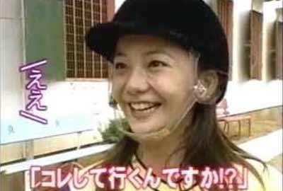 Kahara Tomomi at TV show