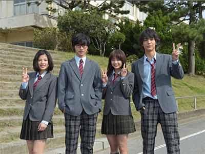 Movie shigatsu no kimi wa uso