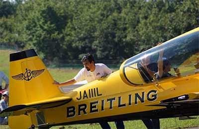 Ikee Toshihito with Breitling