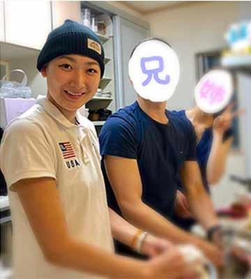 Ikee Rikako & brother & sisiter