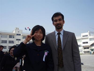 Ikee Toshihiro & his daughter
