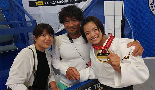 Abe Uta & parents