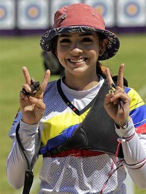 Valentina Acosta Giraldo at TOkyo2020 olympics