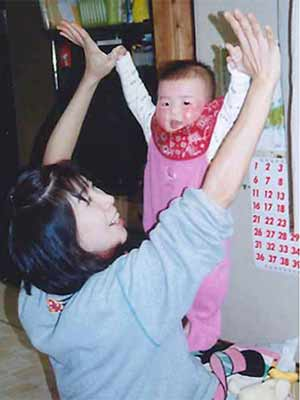 Ikee Rikako&her mother