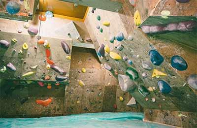 Noguchi Akiyo's climbing wall