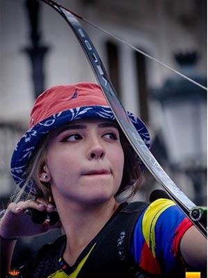Valentina Acosta Giraldo at 2019 contest