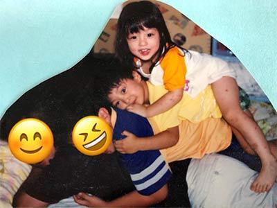 橋本環奈と兄と父