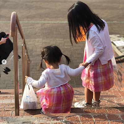 Nakata Sho's daughters