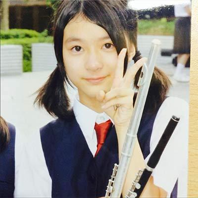 中学時代の芳根京子