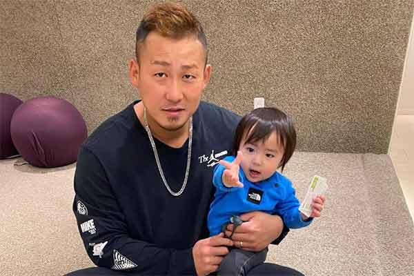 Nakata Sho with Rikito