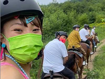 乗馬体験 有吉の夏休み2021