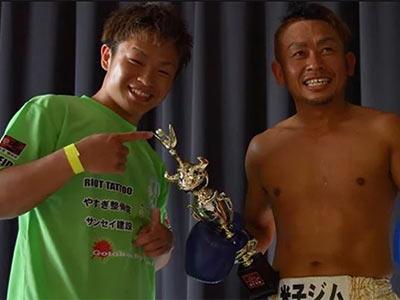 富村誠司さんと息子
